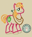 McIntosh Pony Applique Design