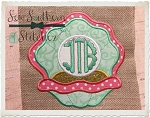 Clam Applique Design ~ Great for Monograms
