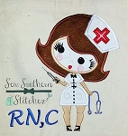 Nurse Applique Design