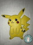 Picachu Applique Design