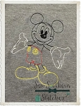 Sketch Mouse - Vintage Stitch - Heirloom Stitch - Bean Stitched